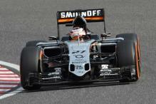 Force India's Nico Hulkenberg fastest in 1st practice at Russian GP