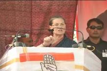 Sonia Gandhi accuses BJP of engineering communal violence