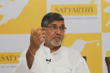 Nobel Peace Prize winner Kailash Satyarthi demands a strong law against child labour