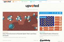 Reddit launches new website that curates best stories generated by users, but disables comments or votes