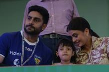 Photo of the day: Bachchan family looks 'best together' at the opening ceremony of ISL 2015