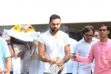 Photos: Dharmendra, Bobby attend Abhay Deol's father Ajit Singh Deol's last rites