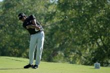 Anirban Lahiri rises to 7th spot on a breezy day at World Golf Championships