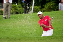 Golf: Anirban Lahiri shoots 67, needs big weekend to challenge for title