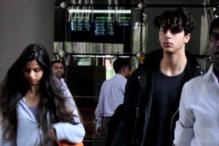 Snapshot: Shah Rukh Khan's son Aryan is growing into an exceptionally good-looking man