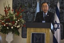 UN chief urges Israelis, Palestinians to act quickly