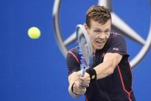 Tomas Berdych advances to semis at Stockholm Open