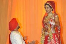 In pics: Harbhajan Singh ties knot with actress Geeta Basra