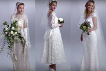 The evolution of the wedding dress over 100 years captured beautifully in three minutes