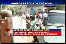 Clash between KMK Party cadres and group of medical representatives at Coimbatore leaves 3 persons injured