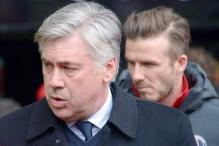 David Beckham backs Carlo Ancelotti to return to EPL