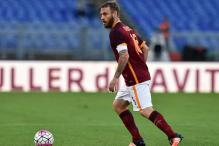 Serie A: Daniele De Rossi scores in 500th game to help Roma beat Empoli 3-1
