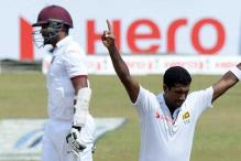 2nd Test: Dhammika Prasad earns Sri Lanka lead over West Indies on Day 2