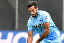 Dharamvir gives India thrilling 3-2 win over New Zealand in third hockey Test