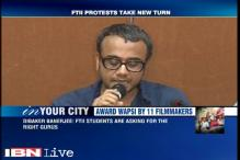Filmmaker Dibakar Banerjee, 9 others return national awards even as FTII students call off 139-day protest