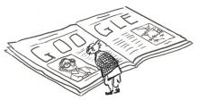 See: Other versions of the RK Laxman Google doodle that didn't make it to the Google homepage
