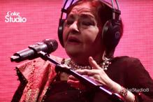 Legendary singer Farida Khanum weaves magic once again with this rendition of 'Aaj Jane Ki Zid Na Karo' for Coke Studio