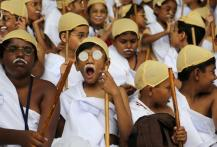 Over 4600 children dress up as Mahatma Gandhi in Bengaluru, enter Guinness Book of World Records