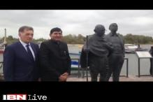 Lithuania marks Gandhi Jayanti with new monument