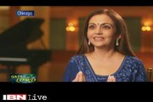 It was apt to have this exhibition here as all religions come together and say love humanity: Nita Ambani