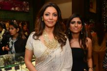 Look of the day: Gauri Khan stuns in Abu Jani Sandeep Khosla sari