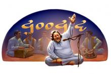 Nusrat Fateh Ali Khan's 67th birthday: Google doodles a qawwali