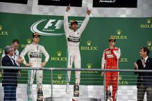 In pics: Lewis Hamilton wins his third Formula One World Championship