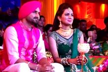 Inside pictures from Harbhajan Singh and Geeta Basra's Sangeet