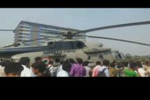 IAF's Mi-17 chopper makes emergency landing in Mumbai, all 6 crew members safe