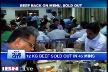 Beef sold out within hours in Kerala House