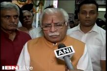 Haryana CM Khattar meets victims' family, four accused still absconding