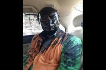 Shiv Sena activists allegedly throw black paint on Sudheendra Kulkarni for organising ex-Pak minister Kasuri's book launch