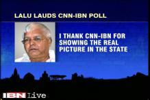 Lalu Prasad Yadav thanks CNN-IBN for showing the truth in pre-poll survey