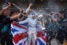 It's party time to the end of the year, says Lewis Hamilton
