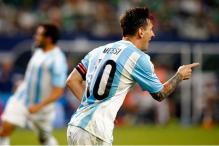 Argentina top FIFA world rankings