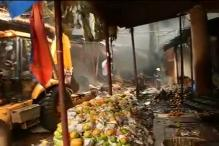 Fire breaks out in Mumbai's Crawford market; no casualties reported, around 200 shops gutted
