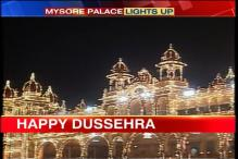 Mysore Palace shines bright on Dussehra
