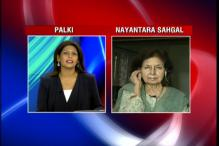 Returning award because of scenario prevalent in the country, says Nayantara Sahgal