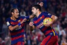 Neymar and Luis Suarez keep stuttering Barcelona on track