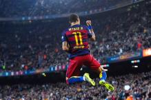 Neymar scores four as Barcelona thrash Rayo Vallecano 5-2