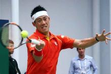 Kei Nishikori holds off Nick Kyrgios to advance in Shanghai Masters