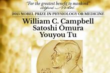 Nobel Prize in Medicine 2015 awarded jointly to William C Campbell, Satoshi Omura and Youyou Tu