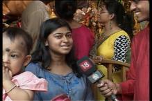 Celebrations at 74-year-old Singhi Park pandal in Kolkata
