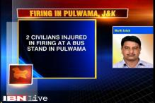 Two injured in police firing in Pulwama