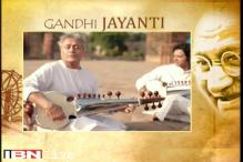 Amjad Ali Khan, his sons pay tribute to Mahatama Gandhi on his birth anniversary