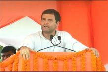 Rahul hits out at Modi for failing to fulfill his poll promises