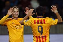 Champions League: Barcelona's Ivan Rakitic hits double in BATE win