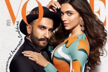 Ranveer Singh and Deepika Padukone's first magazine cover is sizzling hot!
