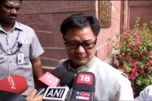 Kiren Rijiju thanks Bangladesh for handing over Anup Chetia to India