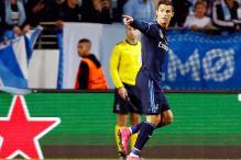Cristiano Ronaldo receives Golden Boot award for Europe's top scorer